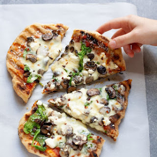 Grilled Flatbread Pizza.