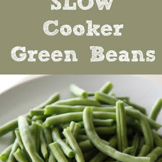Slow Cooker Green Bean.