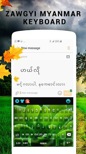 Zawgyi Myanmar keyboard hack tool