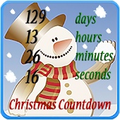Christmas Countdown and Snow