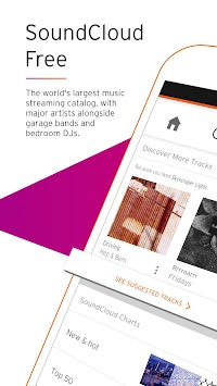 SoundCloud - Zene és Hang APK screenshot thumbnail 1