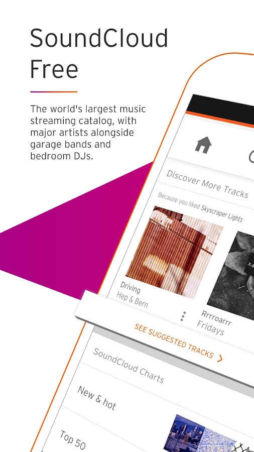 SoundCloud - Music & Audio – screenshot