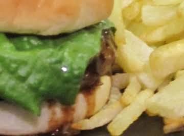 Kitkat's Teriyaki Burger