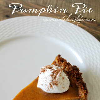 Toasty Cinnamon Pumpkin Pie
