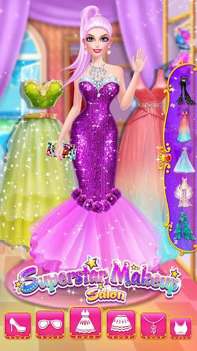u2b50ud83dudc67Superstar Makeup Salon - Girl Dress Up 2.5.5009 screenshots 14