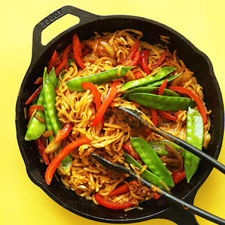 Vegan Singapore Noodles