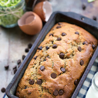 Healthy Greek Yogurt Zucchini Bread