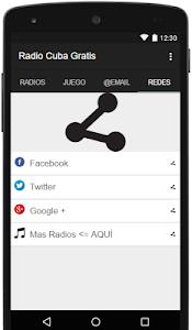 Radio Cuba Gratis screenshot 11