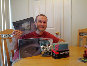 Photo: Mike M. loving his Tegra 3 Prize Pack Giveaway!