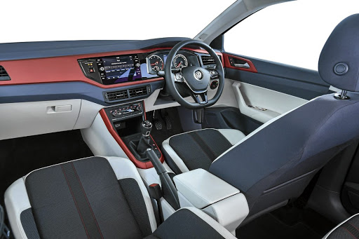 The interior gets plenty of cool tech and some colourful trim options.