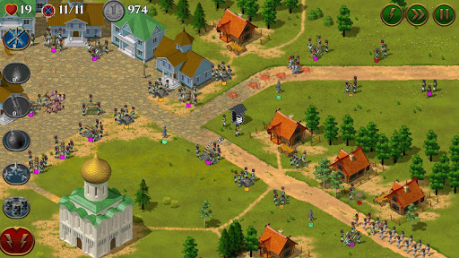 Code Triche 1812. Napoleon Wars TD Tower Defense strategy game APK MOD (Astuce) screenshots 2