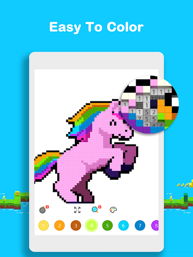 Voxel - 3D Color by Number & Pixel Coloring Book screenshot 14