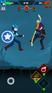 Stickman Ragdoll: Join the Super Hero Mod Apk (One Hit + No Ads) 4
