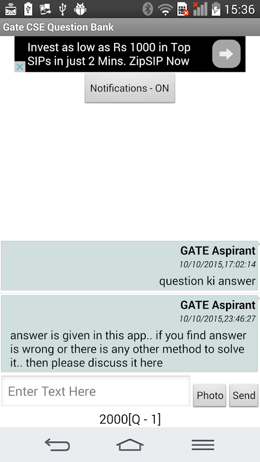 Gate CSE Question Bank- screenshot