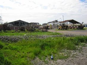 Photo: Bodegas mineras en deterioro