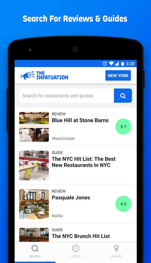 Infatuation: Restaurant Finder- screenshot