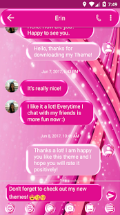 Sparkling SMS Zprávy - náhled