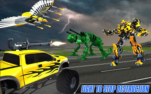 Multi Robot Transform Wolf, Snake, Falcon & Lizard 1.1 screenshots 7