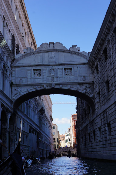 Bridge of Sighs in Venice, Italy (2015)