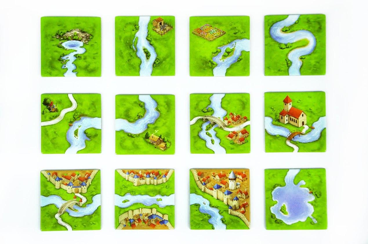 carcassonne rzeka recenzja