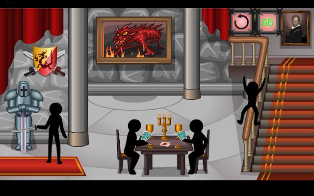 Stickman Blood Castle - screenshot
