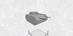 小さい戦車Ⅳ号機