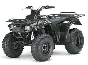 Kawasaki KLF Bayou manual-taller-servicio-despiece