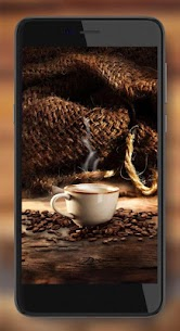 Coffee live wallpaper 4