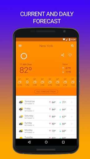 Weather 14 days Ad Free