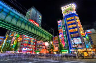 Photo: Akihbara on a busy Friday night