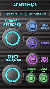 DJ klávesnice - náhled