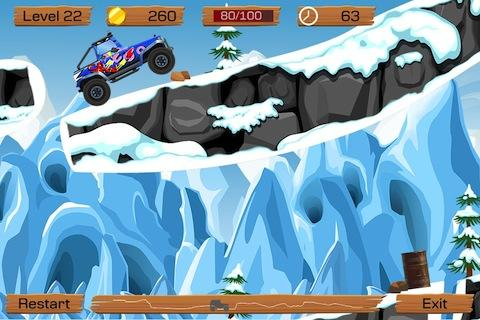 Snow Off Road -- mountain mud dirt simulator game