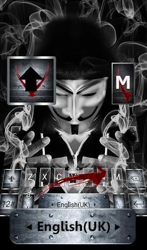 Anonymous Mask Vapor Keyboard Theme Hack, Cheats & Hints