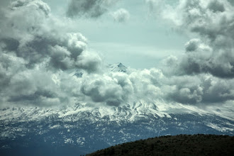 Photo: Oooh, here's a spooky one for you, +Kate Church . Nope, not billows of smoke, just some funky looking clouds. :)  #PanoPoker: Mountains, by +Mike Spinak and +Barry Blanchard