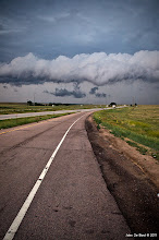 Photo: Another shot of the gust front from storm chasing today