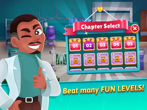 Medicine Dash - Hospital Time Management Game modavailable screenshots 14