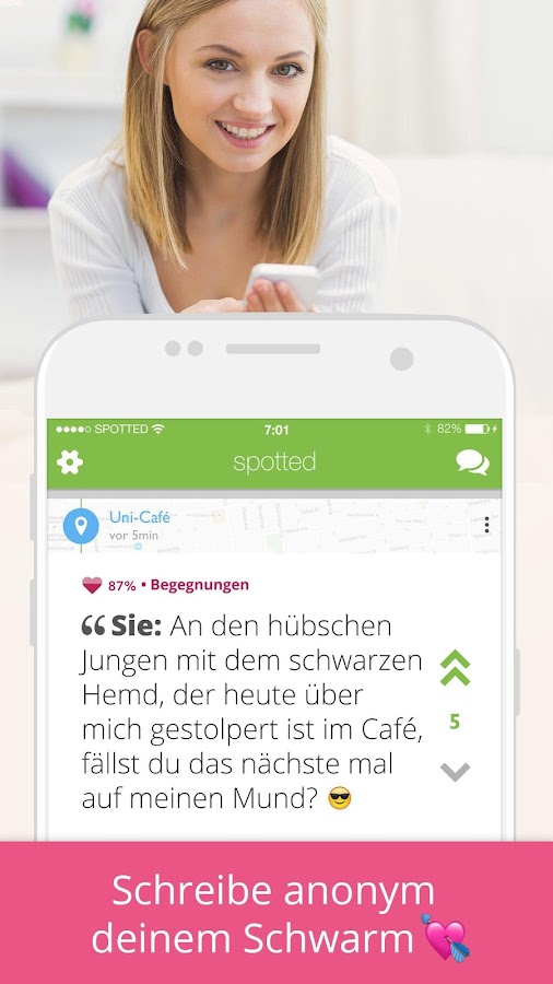 Spotted – Screenshot
