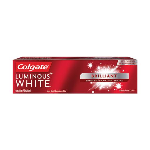 Crema Dental Colgate Luminous White Brilliant  75 Ml