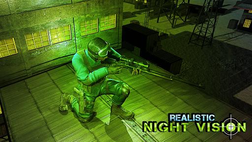 sniper 3d assassin - night vision shooting games screenshot 2