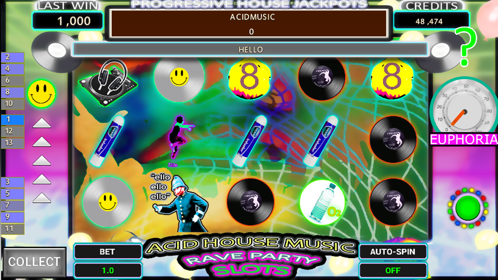 Dance Energy Party Slots FREE- screenshot