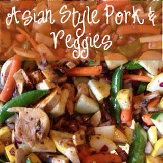 Asian Style Pork & Veggies Recipe