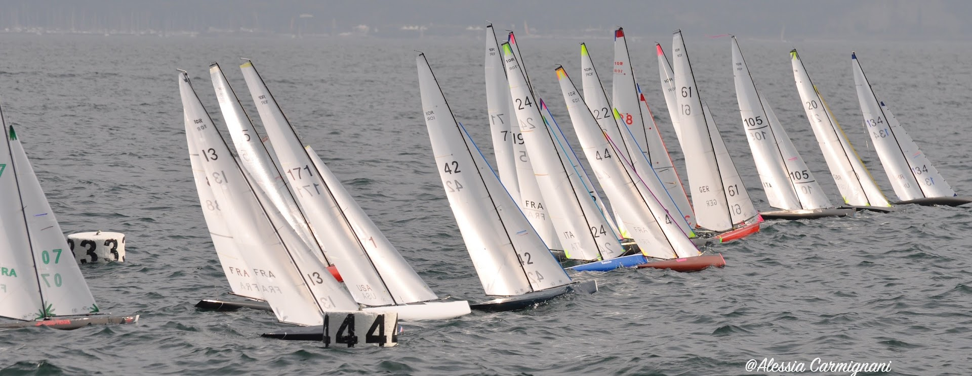 Day 3 10R Worlds – The full force of Lake Garda kicks in on the last day.
