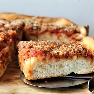 Sicilian Sfincione (Sicilian Style Pizza) Recipe