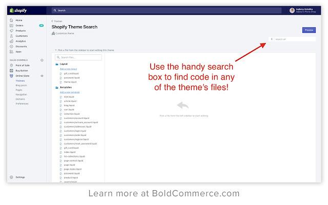 Shopify Theme Search by Bold