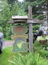 Photo: La visite de la SHEC au Jardin Vert Grenouille de Diane Leblond et Gaston Simard à St-Tite-des-Caps