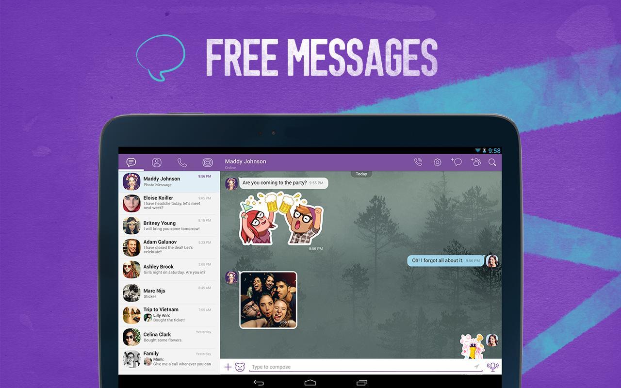 Viber- screenshot