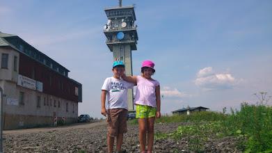Photo: Nikola a Ondra na Klinovci