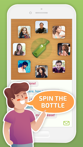 Spin the Bottle: Kiss, Chat and Flirt apklade screenshots 1