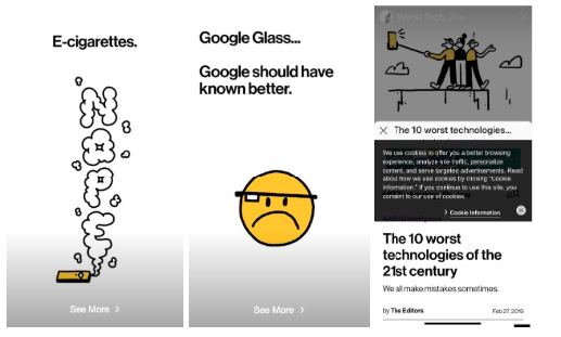 MIT Technology Review Instagram Stories