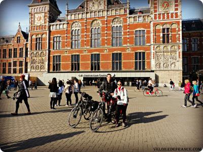 Aller aux Pays-Bas depuis Paris en train avec son vélo